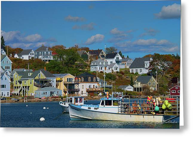 The Lobsterman's Shop Greeting Card