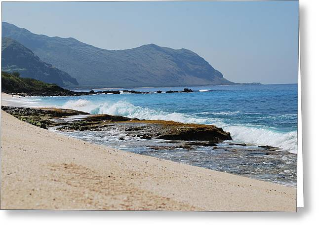 Greeting Card featuring the photograph The Local's Beach by Amee Cave