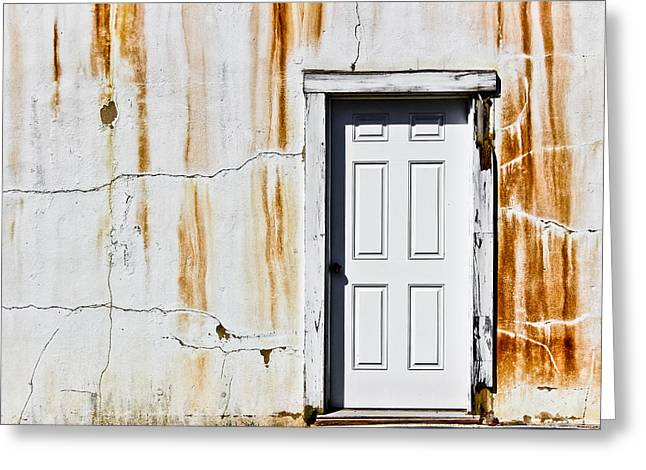 The Lock Tender's House Greeting Card by Colleen Kammerer