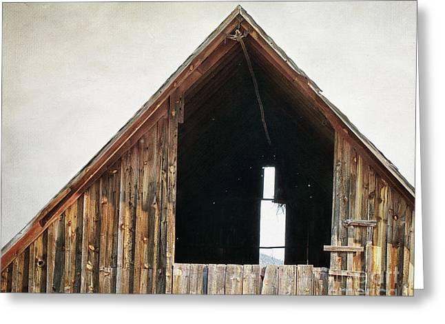 The Loft Greeting Card by Alison Sherrow