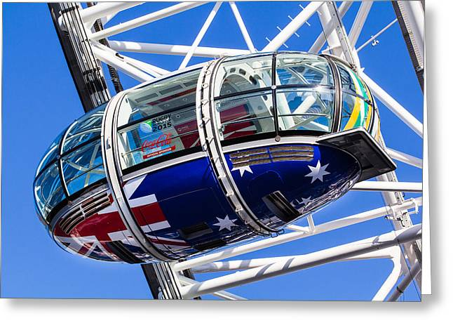 The London Eye Rugby World Cup 2015 Greeting Card