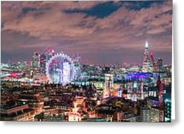 The London Skyline Greeting Card