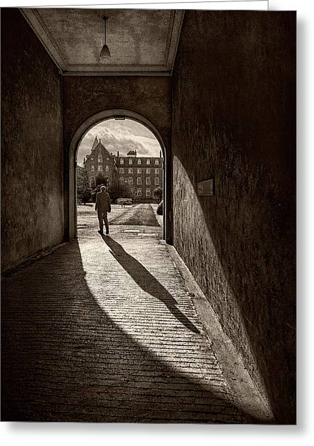 The Long Shadow Greeting Card