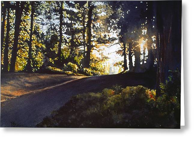 The Long Way Home Greeting Card