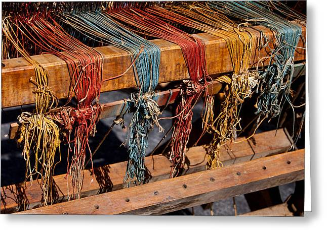 The Loom Greeting Card by Art Block Collections