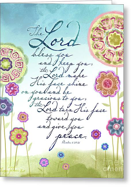The Lord Bless You Greeting Card