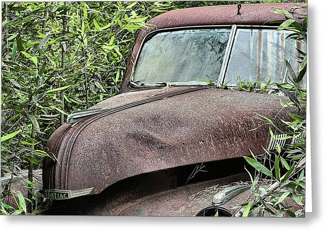 The Lost And Found Pontiac Greeting Card by JC Findley