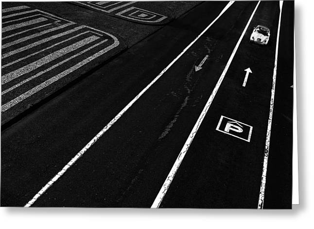 The Lost Beatle Greeting Card by Paulo Abrantes