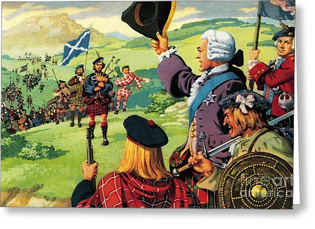The Lost Cause Of Bonnie Prince Charlie Greeting Card by Pat Nicolle
