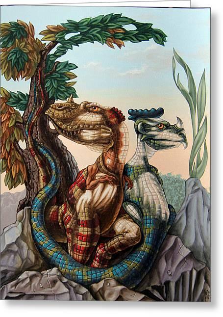 The Lost World  By Sir Arthur Conan Doyle Greeting Card