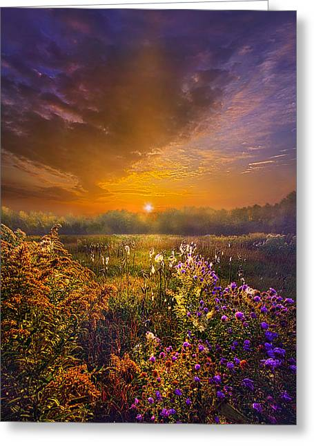 The Love That Lights My Way Greeting Card