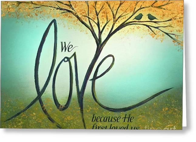 The Love Tree Greeting Card