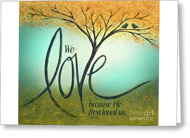 The Love Tree Greeting Card