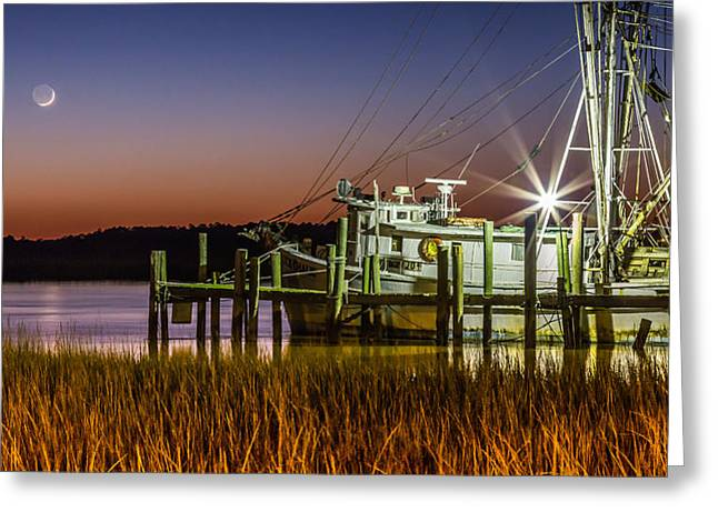 The Low Country Way - Folly Beach Sc Greeting Card