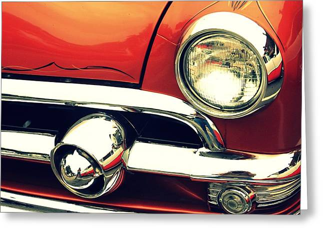 The Lure Of Paint And Chrome Greeting Card by Lyle Hatch