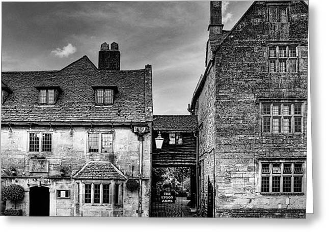 The Lygon Arms, Broadway Greeting Card