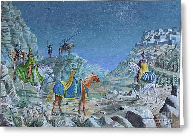 The Magi Greeting Card