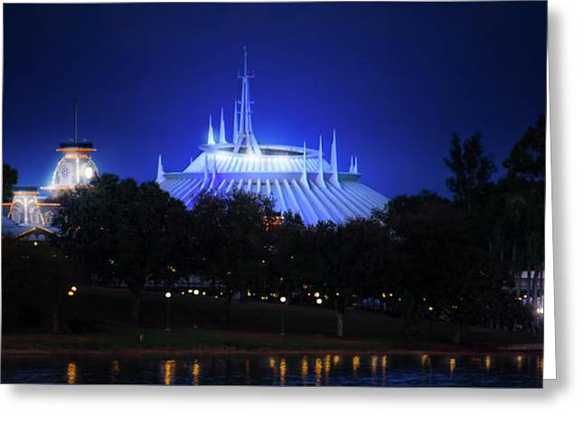 Greeting Card featuring the photograph The Magic Kingdom Entrance by Mark Andrew Thomas