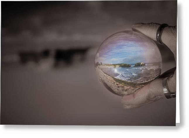Greeting Card featuring the photograph The Magic by Lora Lee Chapman