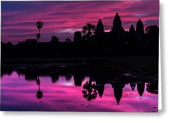 The Magic Of Angkor Wat Greeting Card