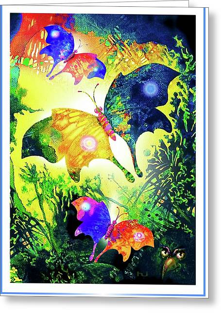 The Magic Of Butterflies Greeting Card