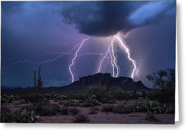 The Magic Of The Monsoon  Greeting Card