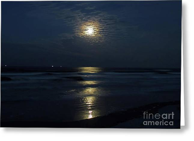 The Magic Of The Supermoon Greeting Card