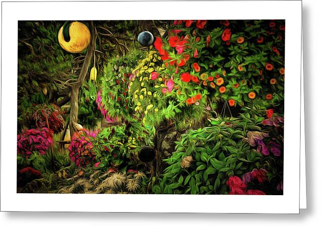 The Magical Garden Greeting Card