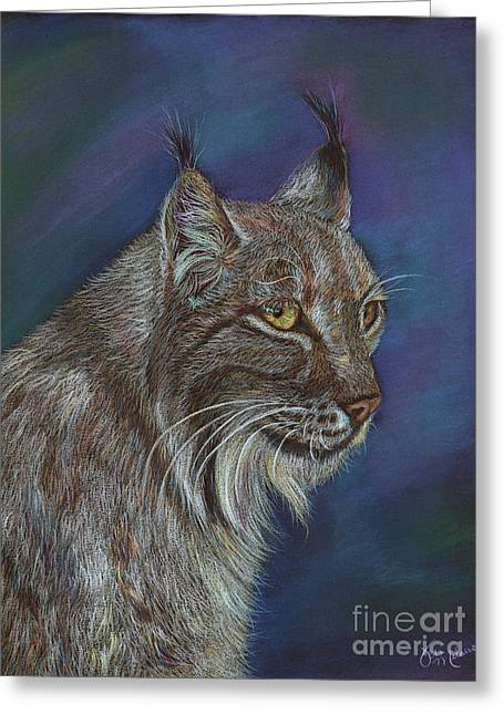 The Majestic Lynx Greeting Card
