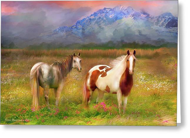 The Majestic Pasture Greeting Card