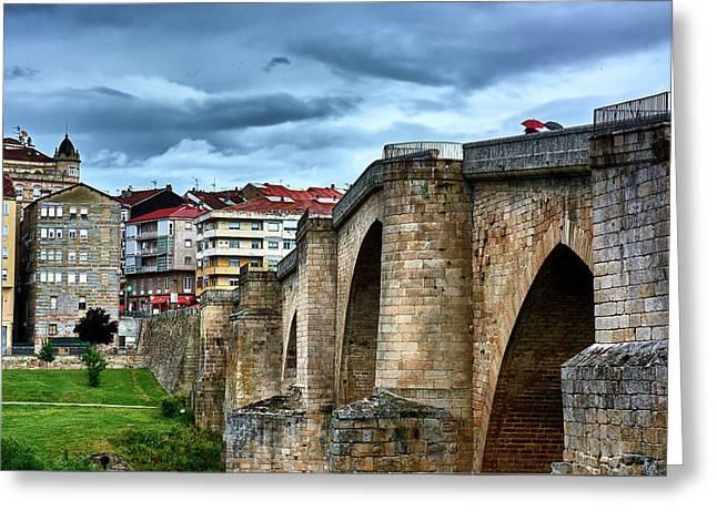 The Majestic Ponte Vella Greeting Card