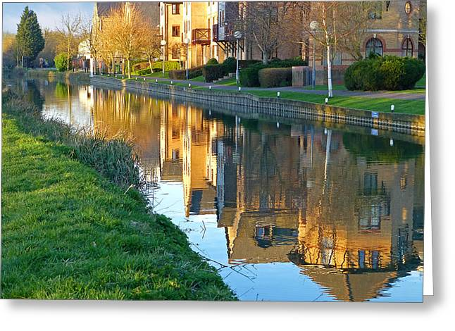 The Maltings Reflections Greeting Card