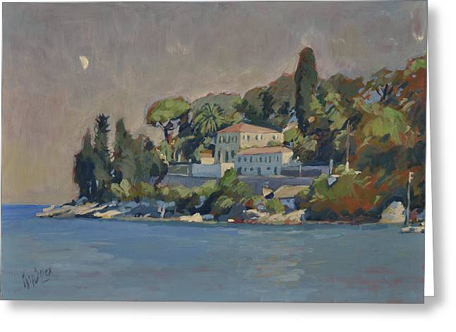 The Mansion House Paxos Greeting Card