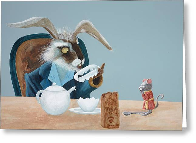 The March Hare Greeting Card