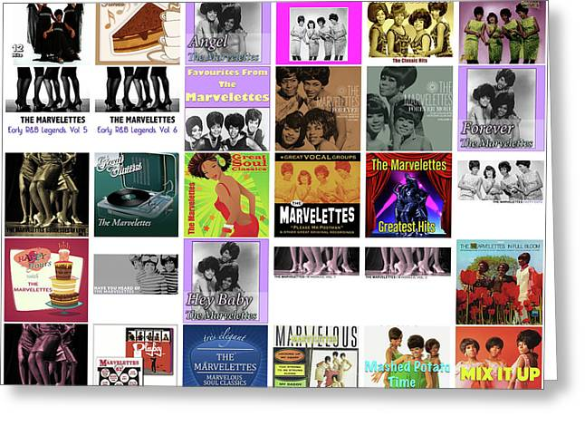 The Marvelettes 1 Greeting Card