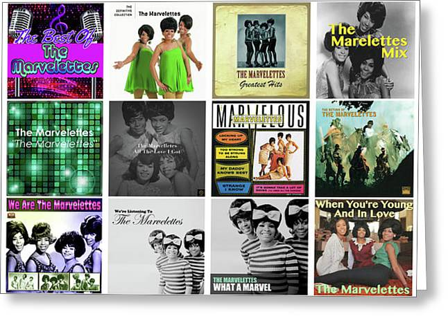 The Marvelettes 3 Greeting Card