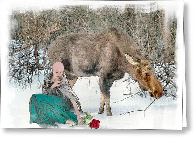 The Memory Rose Greeting Card