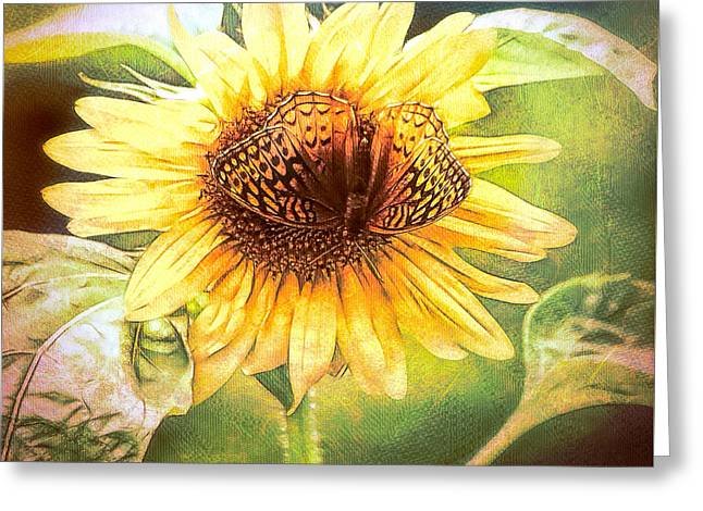 The Merge Greeting Card by Tina LeCour