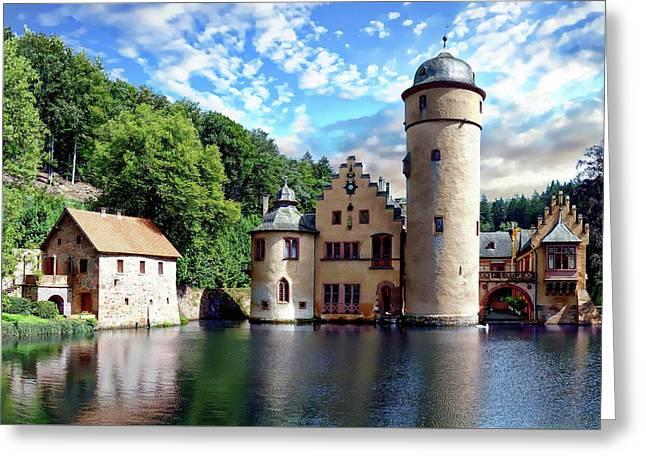 The Mespelbrunn Castle Greeting Card