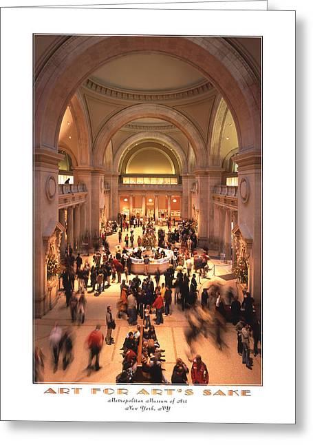 The Metropolitan Museum Of Art Greeting Card by Mike McGlothlen