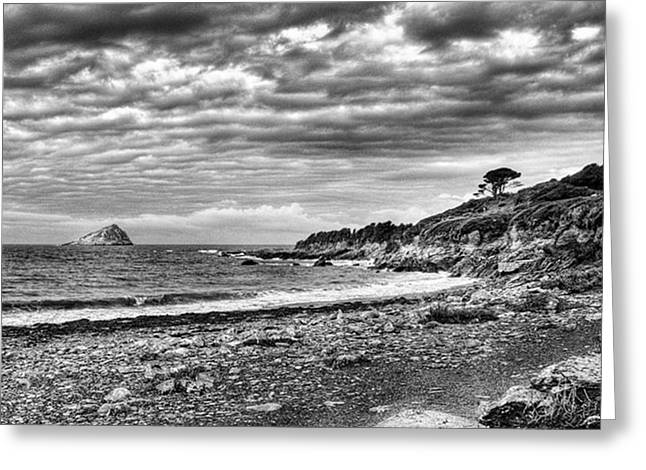 The Mewstone, Wembury Bay, Devon #view Greeting Card
