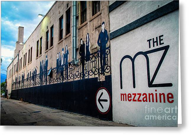 The Mezzanine Art Deco Greeting Card
