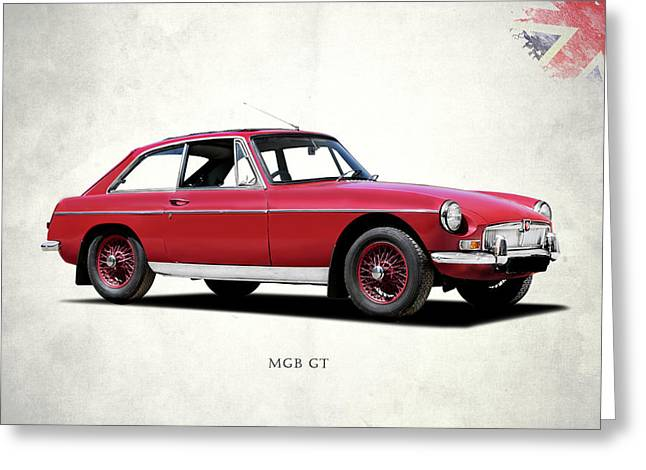 The Mgb Gt Greeting Card