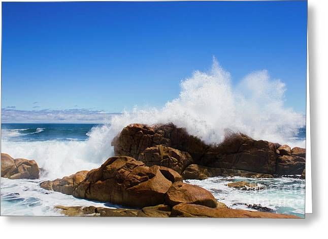 The Might Of The Ocean Greeting Card by Jorgo Photography - Wall Art Gallery