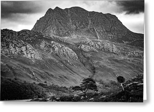 The Mighty Slioch Greeting Card