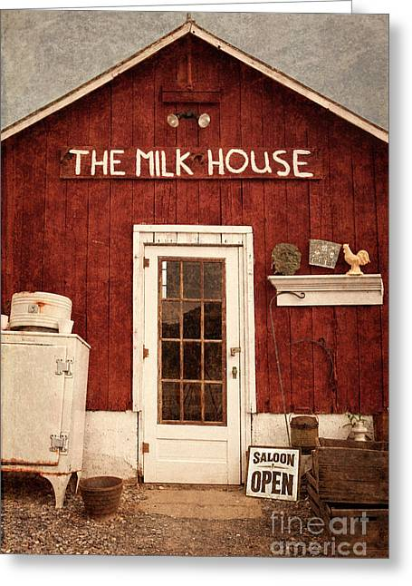 The Milk House Greeting Card