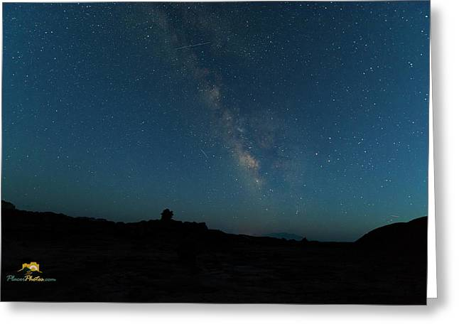 The Milky Way At Goblin Valley Greeting Card
