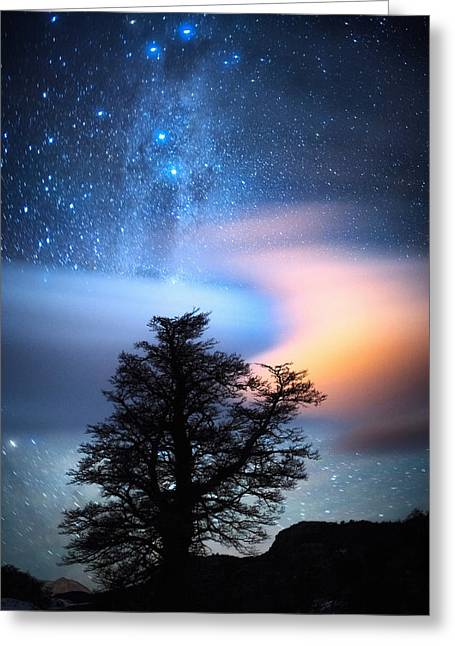 The Milky Way Greeting Card