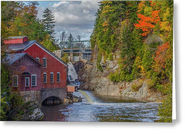 The Mill In Fall Greeting Card