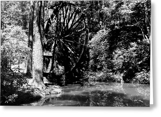 The Mill Wheel Greeting Card